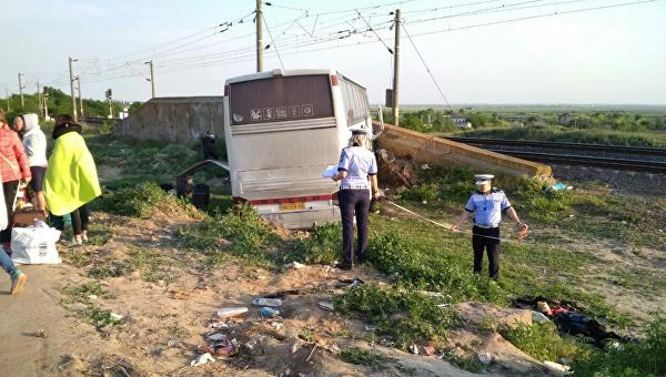Автобус с украинцами попал в ДТП в Румынии