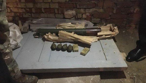 СБУ обнаружила большой арсенал гранат и гранатомет у жителя Сумской области