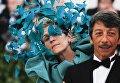 Красная дорожка Met Gala 2018. Актриса Фрэнсис Макдормэнд на балу Института костюма Met Gala 2018