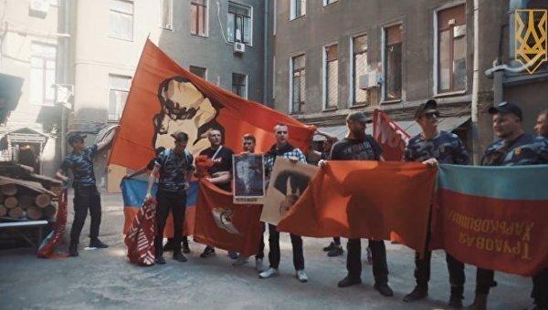 Активисты харьковского Национального корпуса