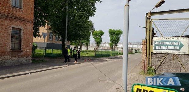На месте отравления детей в Черкассах, 8 мая 2018