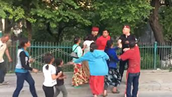 Конфликт цыган и правоохранителей