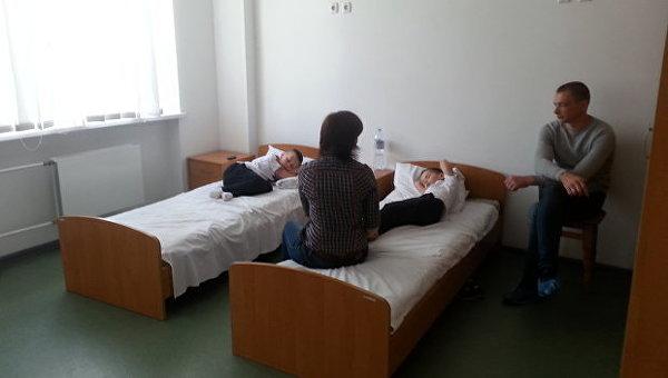 Дети в одной из больниц Черкасс