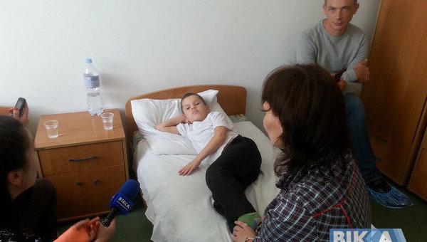 Мальчик в одной из больниц Черкасс
