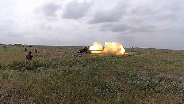 Учебные стрельбы из модернизированных противотанковых Рапир