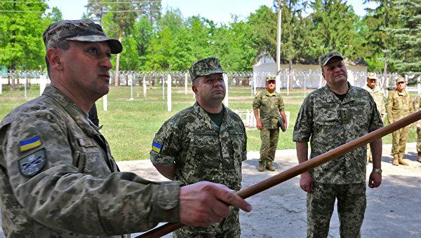 Министр обороны Степан Полторак