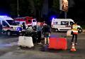 В Киеве на пересечении улиц Телиги и Гонты столкнулись три авто с опрокидыванием. Видео