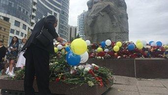День победы в Днепре в окружении националистов