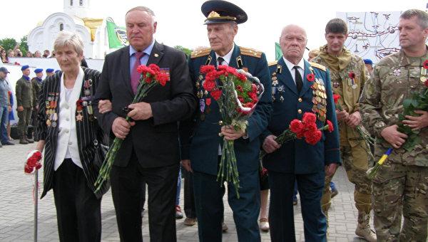 Акция к 9 Мая в Харькове