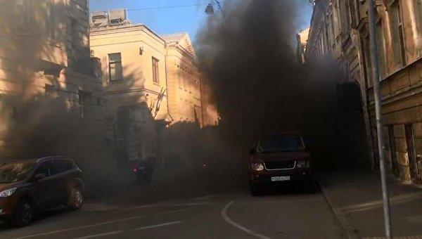Нападение на посольство Латвии в Москве