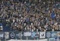 Фанаты Динамо во время финального матча Кубка Украины против Шахтера