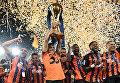 Победа Шахтера в Кубке Украины по футболу. Церемония награждения