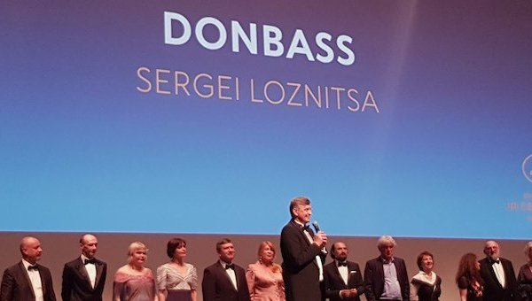 В рамках Каннского кинофестиваля прошла премьера нового фильма режиссера Сергея Лозницы Донбасс