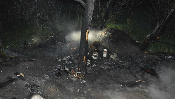 В Днепре спасатели обнаружили остатки сгоревших бездомных