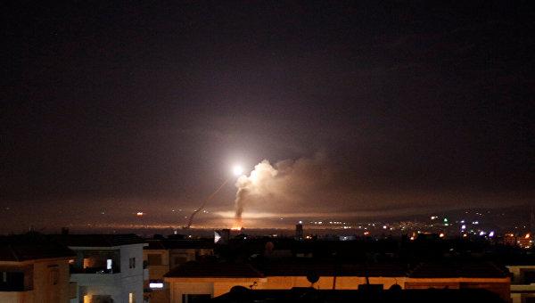 Израильские военные оценили ночные авиаудары по Сирии