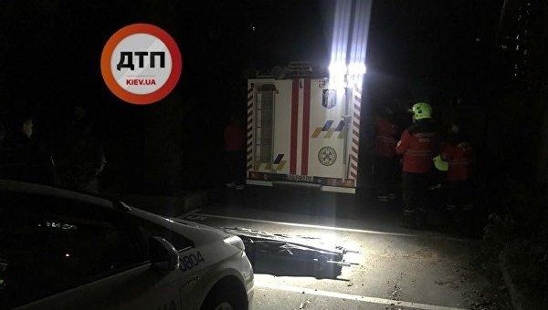 В Киеве девушка упала с 25 этажа в недостроенном здании