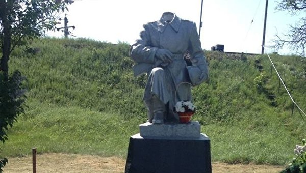 В Ковеле осквернили памятник Неизвестному солдату