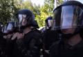 Конфликт Нацкорпуса и охраны Левочкина