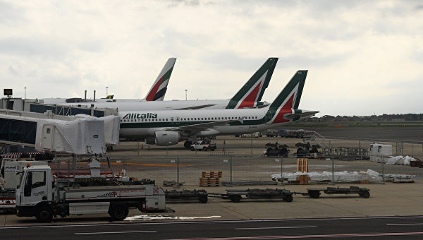 Самолеты авиакомпании Alitalia
