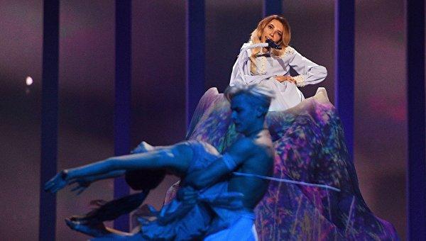 Певица Юлия Самойлова (Россия) на Евровидении-2018