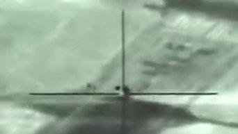 Ракетный удар Израиля по зенитному ракетно-пушечному комплексу Панцирь-С1 в Сирии. Видео