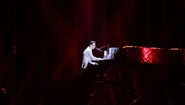 Выступление Melovin во втором полуфинале Евровидения-2018