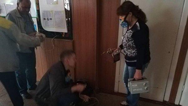 В школе Павлограда распылили неизвестное вещество
