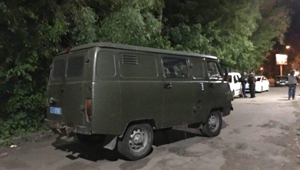 На месте обнаружения трупа в Киеве