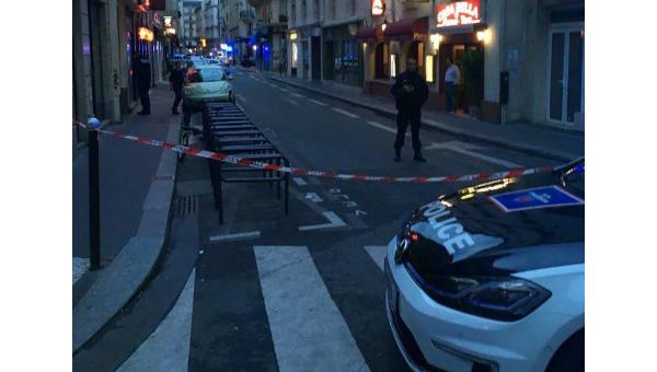 На месте резни в Париже