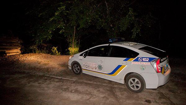 Автомобиль патрульной полиции. Днепр, 13 мая 2018