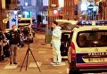 На месте  нападения в Париже на прохожих