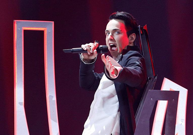 Выступление одесского певца Melovin в финале Евровидения
