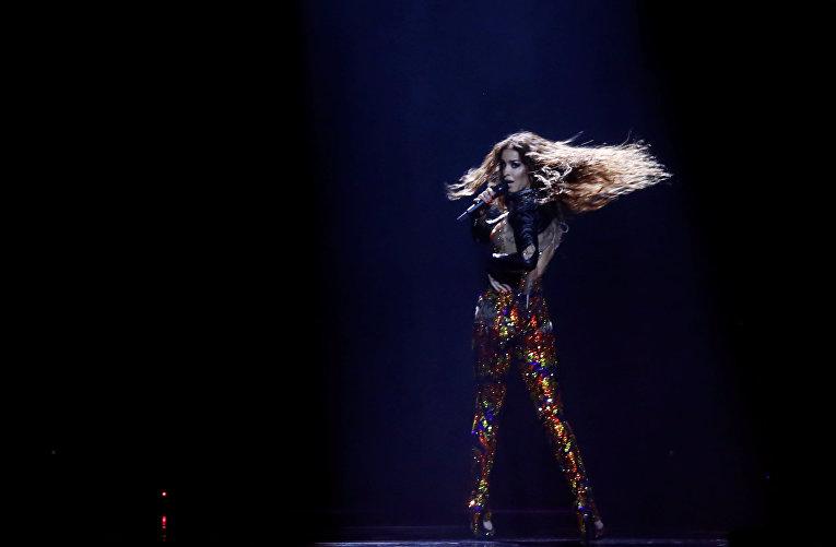 Выступление Кипра в финале Евровидения 2018: Элени Фурейра – Fuego