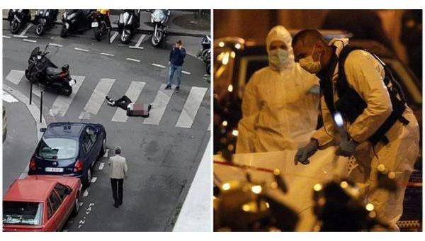 На месте резни в Париже, 12 мая 2018