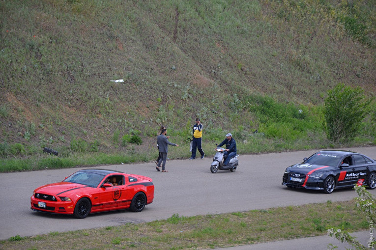 Под Одессой прошли гонки суперкаров