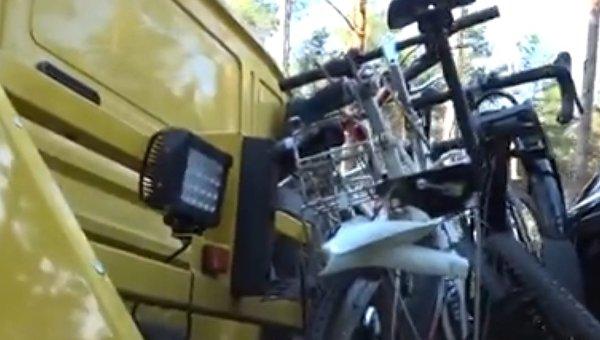 В Германии 81-летний водитель врезался в велосипедистов