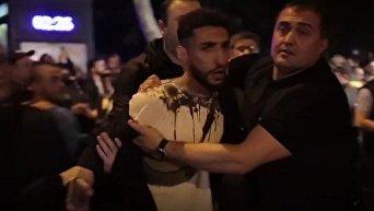 Столкновения полиции и протестующих в Тбилиси в ночь на 14 мая