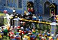 Свадьбу принца Гарри и Меган Маркл собрали из Lego