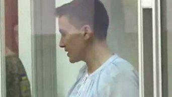 Заседание суда по продлению срока ареста Надежде Савченко