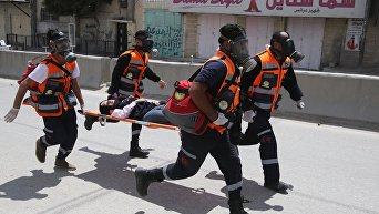 Протесты против переноса посольства США из Тель-Авива в Иерусалим