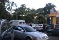 На месте стрельбы в Одессе, 14 мая 2018