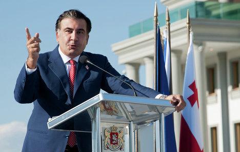 Саакашвили больше не любимец грузин, источник: rian.com.ua