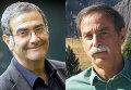 Нобелевские лауреаты по физике за 2012 год - француз Серж Арош и американец Дэвид Уайнлэнд