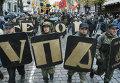 Пеший марш за признание бойцов УПА участниками национального освободительного движения в Украине в Киеве. Архивное фото