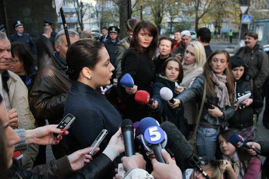 Пресс-секретарь Генпрокуратуры Украины Маргарита Мелькова