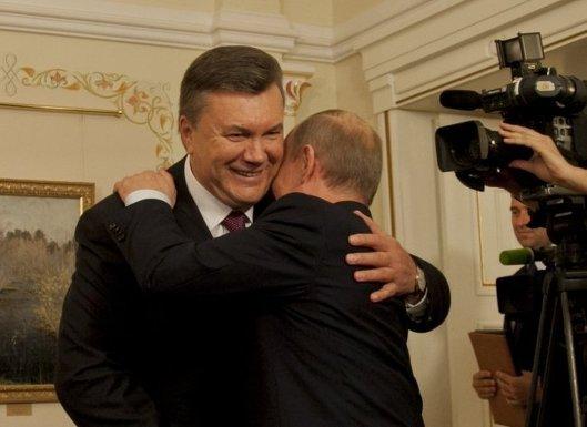 Встреча Януковича с Путиным