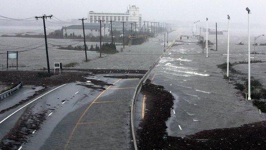 Последствия урагана Сэнди в США