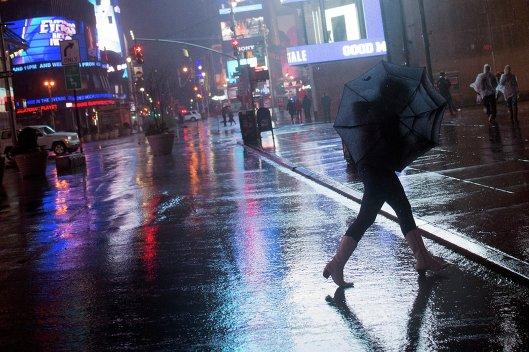 Нью-Йорк готовится к встрече урагана Сэнди