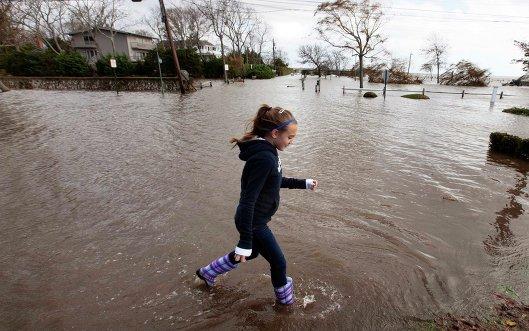 Последствия урагана Сэнди, Нью-Йорк.