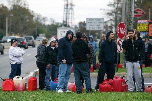 Последствия урагана Сэнди, Нью-Джерси.